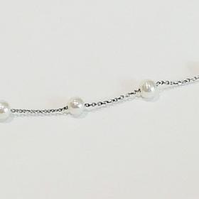 bracciale una argento con perle1