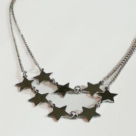 idee regalo ragazza collana in argento stelle1