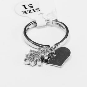 idee regalo mamma anello bimba e cuore