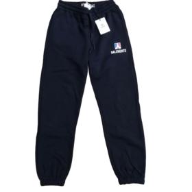 Pantalone in felpa con stampa su coscia