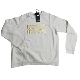 Maglia in felpa con logo CDFD oro