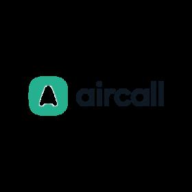 logo centralino telefonico Aircall